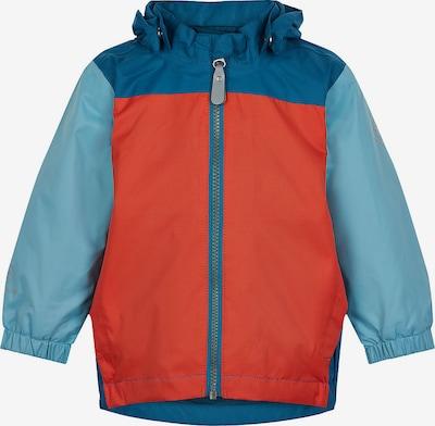 COLOR KIDS Outdoorjacke in hellblau / dunkelblau / rot, Produktansicht
