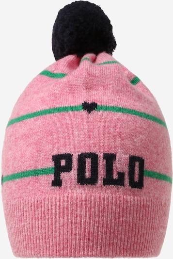 POLO RALPH LAUREN Muts in de kleur Groen / Pink, Productweergave