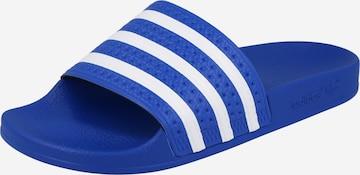 ADIDAS ORIGINALS Plätu 'Adilette', värv sinine