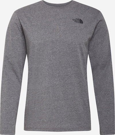 THE NORTH FACE Camiseta 'Red Box' en gris moteado / negro, Vista del producto