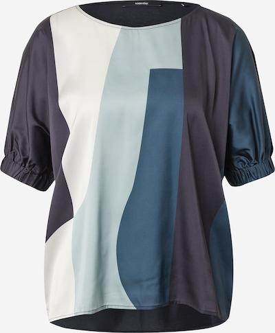 Someday Blus 'Kali' i marinblå / aqua / mörkblå / vit, Produktvy