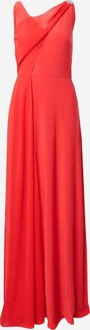 sarkans Lauren Ralph Lauren Vakarkleita 'TELYN-SLEEVELESS-EVENING DRESS'