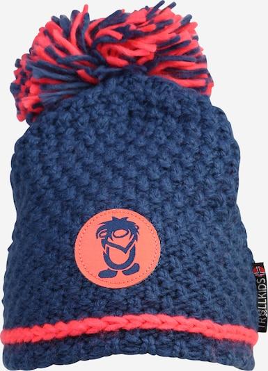 TROLLKIDS Športna kapa 'Hemsedal ' | modra / neonsko roza barva, Prikaz izdelka