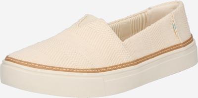TOMS Slipper 'PARKER' in beige, Produktansicht
