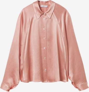 MANGO Blouse 'ROSITA' in Pink