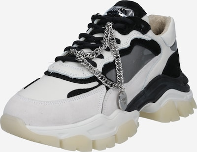 BRONX Sneakers low 'TAYKE-OVER' in Black / Off white, Item view