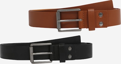 ABOUT YOU Belt 'Erik' in Brown / Black, Item view