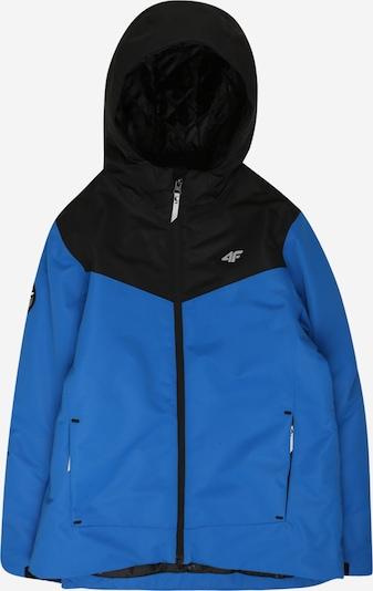 4F Sport-Jacke in blau / schwarz, Produktansicht