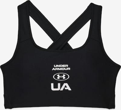 UNDER ARMOUR Sport-BH in schwarz / weiß, Produktansicht