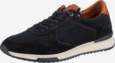 TOMMY HILFIGER Sneaker 'RUNNER CRAFT' in navy / braun, Produktansicht