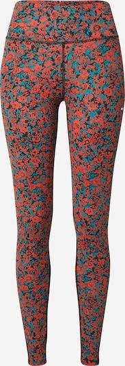 Tommy Sport Sporta bikses, krāsa - tirkīza / sarkans / melns, Preces skats