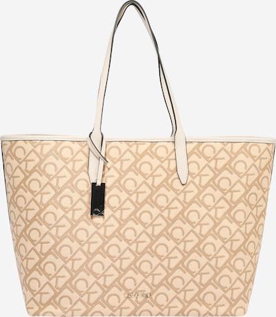 krém / homok Calvin Klein Shopper táska, Termék nézet