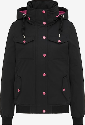 MYMO Veste d'hiver en rose / noir, Vue avec produit