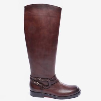 Santoni Stiefel in 36,5 in dunkelrot, Produktansicht