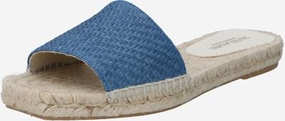 JUTELAUNE Pantolette in blau, Produktansicht