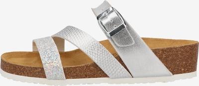 COSMOS COMFORT Sandale in hellbraun / silber, Produktansicht