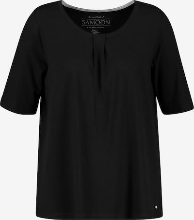 SAMOON T-Shirt in schwarz, Produktansicht