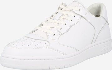 Polo Ralph Lauren Madalad ketsid 'POLO CRT LUX-SNEAKERS-LOW TOP LACE', värv valge