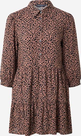 Dorothy Perkins Рокля тип риза в светлокафяво / черно, Преглед на продукта