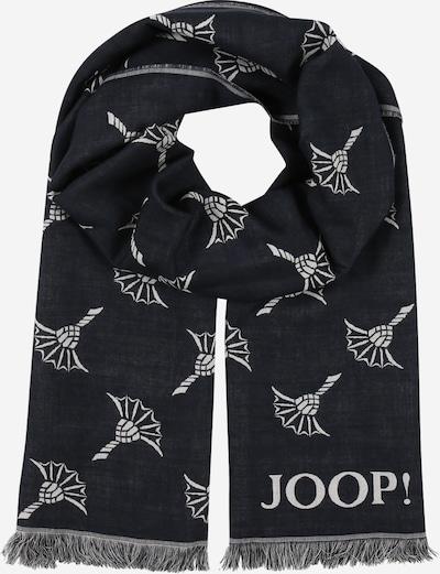 JOOP! Écharpe '17 JSC-05Feris-PC 10008303' en bleu nuit / blanc, Vue avec produit