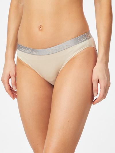Calvin Klein Underwear Alushousut värissä beige / hopeanharmaa: Näkymä edestä
