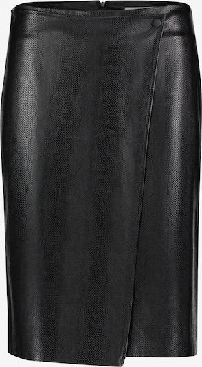 Betty & Co Kunstleder-Rock mit Muster in schwarz, Produktansicht