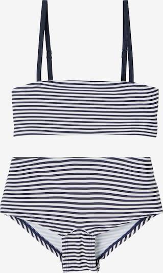 LMTD Bikini in navy / weiß, Produktansicht
