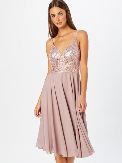 SWING Kleid in rosa / silber, Modelansicht