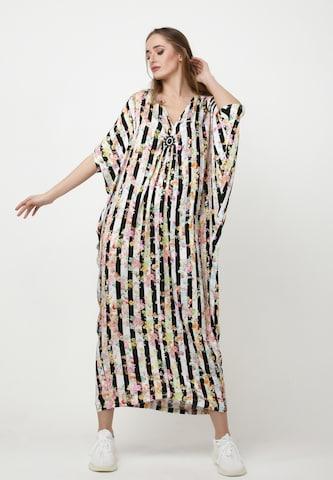 Madam-T Dress 'Muza' in Beige