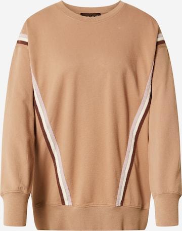 MOS MOSH Sweatshirt 'Evie' in Beige