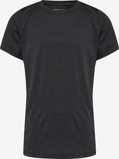 Hummel T-shirt in graphit / schwarz, Produktansicht