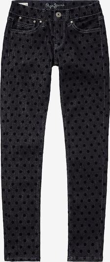 Pepe Jeans Jeans 'Piylette Flock' in dunkelblau / schwarz, Produktansicht