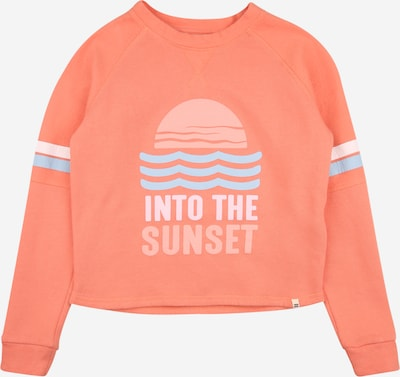 BILLABONG Sports sweatshirt 'LOUNGE LIFE' in light blue / coral / white, Item view