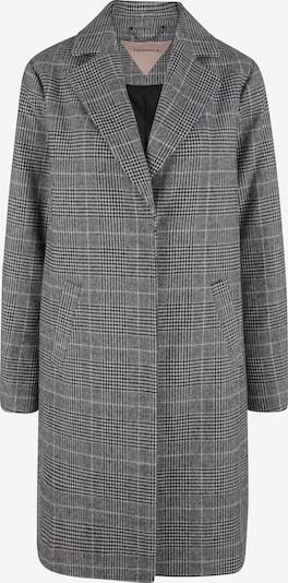 TRIANGLE Between-Seasons Coat in Grey / Black, Item view