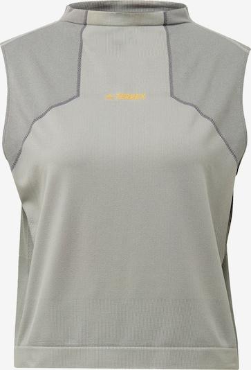 ADIDAS PERFORMANCE Functioneel shirt 'TERREX Zupahike' in de kleur Grijs, Productweergave