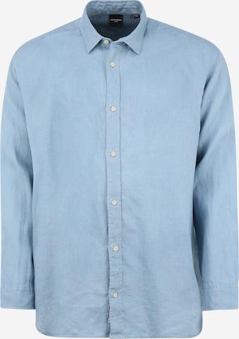 Jack & Jones Plus Hemd in Blau