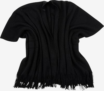 Six Poncho in schwarz, Produktansicht