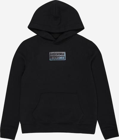 Abercrombie & Fitch Sweatshirt in blau / schwarz, Produktansicht