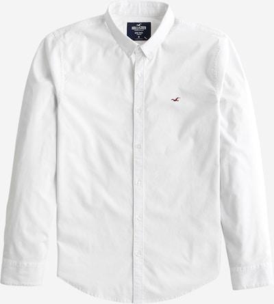 Dalykiniai marškiniai iš HOLLISTER , spalva - balta: Vaizdas iš priekio