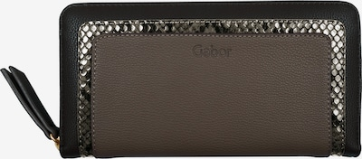 GABOR Wallet in Taupe / Black / Silver, Item view