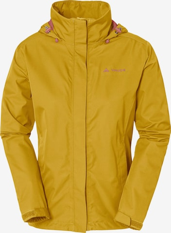 VAUDE Outdoor Jacket 'Escape Light' in Yellow