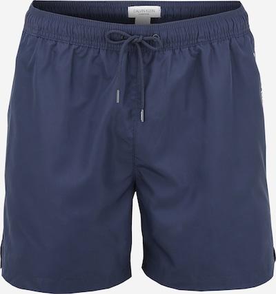 Șorturi de baie Calvin Klein Swimwear pe albastru noapte / alb, Vizualizare produs