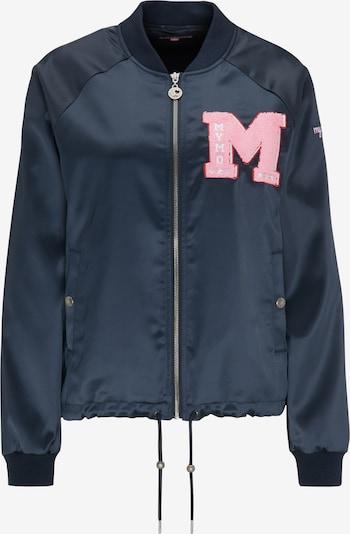 MYMO Jacke in marine / rosa / weiß, Produktansicht