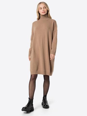 smėlio Weekend Max Mara Megzta suknelė 'FASCINO'