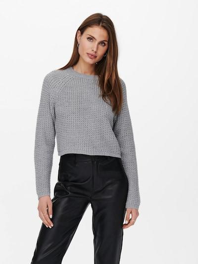 ONLY Pullover 'MATILDA' in hellgrau, Modelansicht
