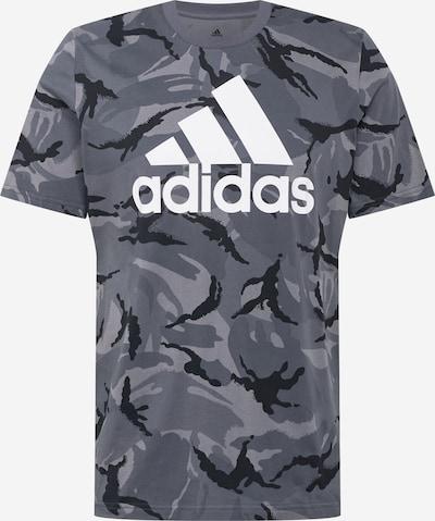 Sportiniai marškinėliai iš ADIDAS PERFORMANCE , spalva - pilka / antracito / balta, Prekių apžvalga