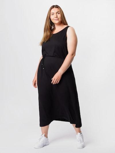 KAFFE CURVE Kleid 'Silla' in schwarz, Modelansicht