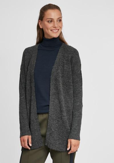 Oxmo Strickjacke 'Gisele' in grau, Modelansicht