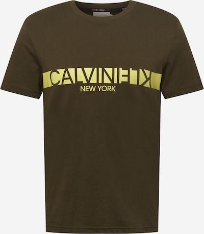 Calvin Klein Koszulka w kolorze żółty / oliwkowym, Podgląd produktu