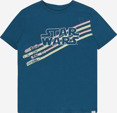Tricou GAP pe albastru pastel / verde kiwi / roșu / alb, Vizualizare produs